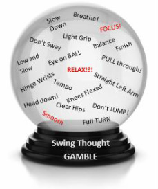 Crystal Ball swimming in Swing Thoughts